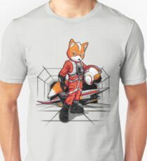 Rebell Fox Slim Fit T-Shirt