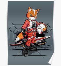 Rebel Fox Poster