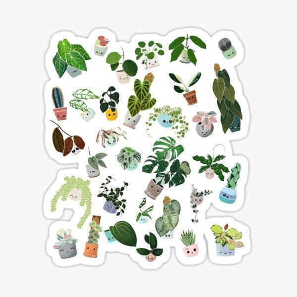Plant Addict confetti  Sticker