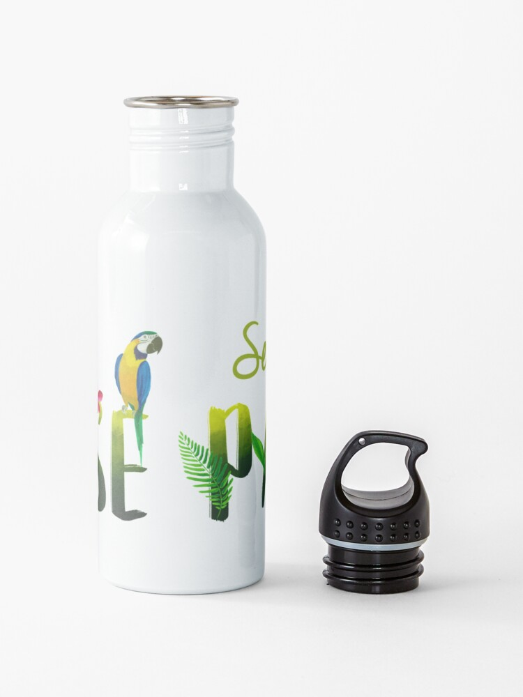 Alternate view of SEE YOU IN PARADISE (DESIGN NO. 1) Water Bottle