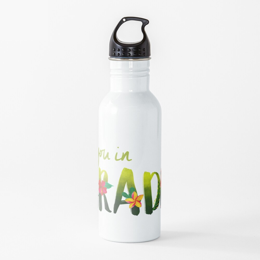 SEE YOU IN PARADISE (DESIGN NO. 1) Water Bottle