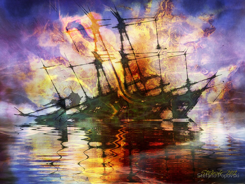 The Lost Ship V by Stefano Popovski