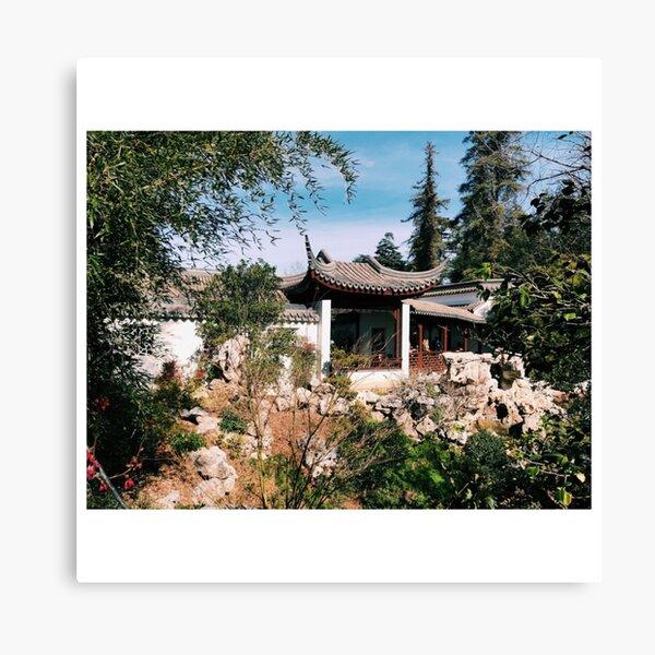 Huntington Botanical Garden California Canvas Print