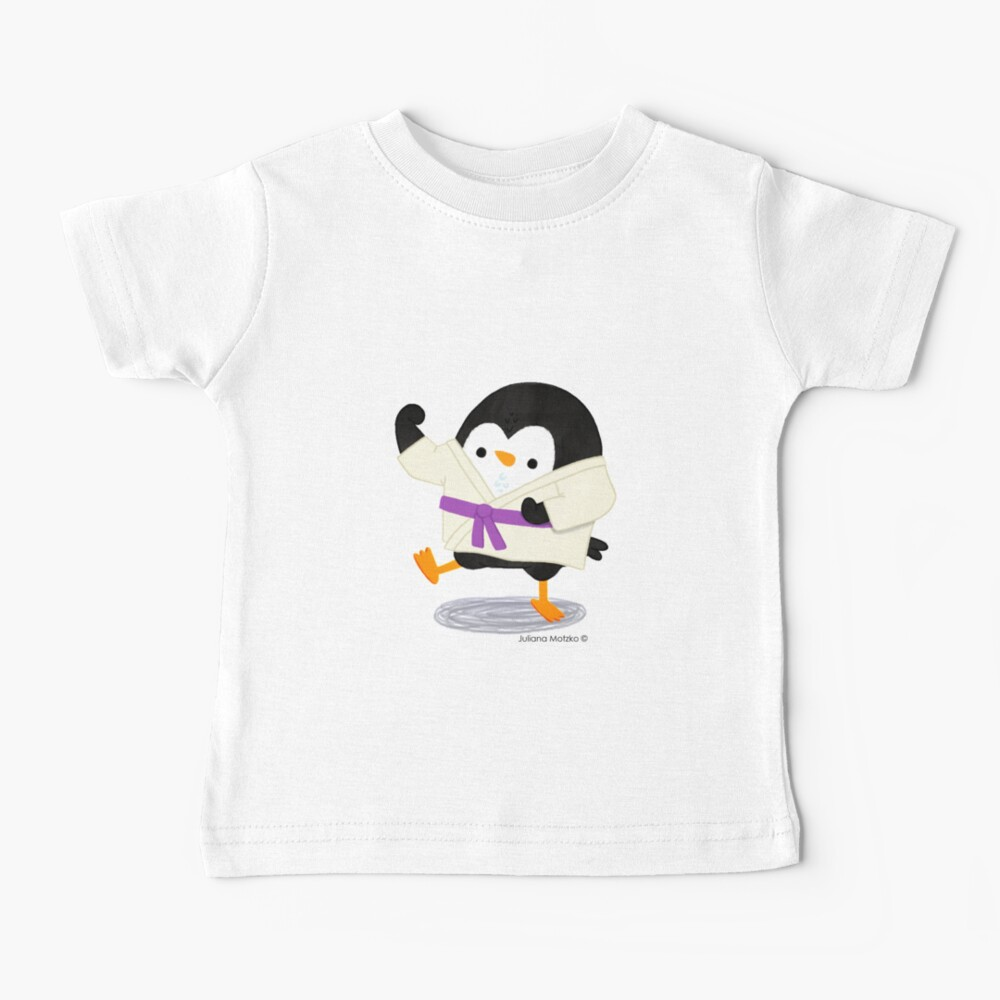 Karate Penguin 2 Baby T-Shirt