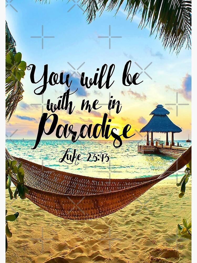 Luke 23:43 by JenielsonDesign