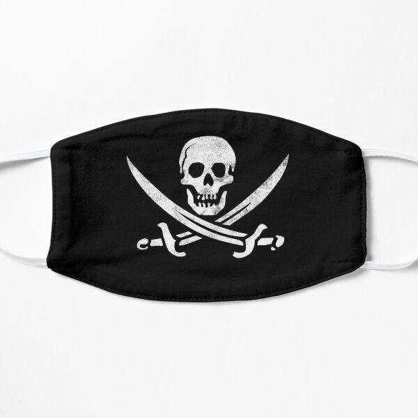 Calico Jack Sword Pirate Flag Jolly Roger Graphic Masque sans plis
