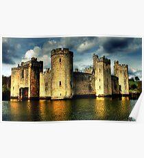 Bodiam Castle (National Trust) Poster