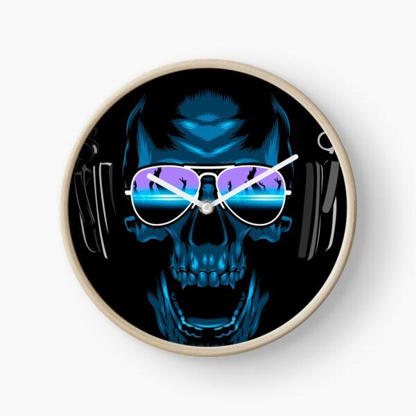 DJ Skull Clock