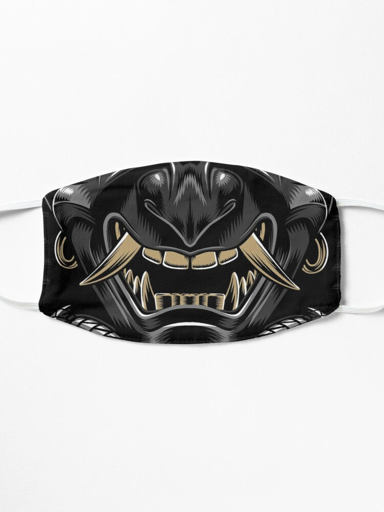 Alternate view of Samurai mask Mask