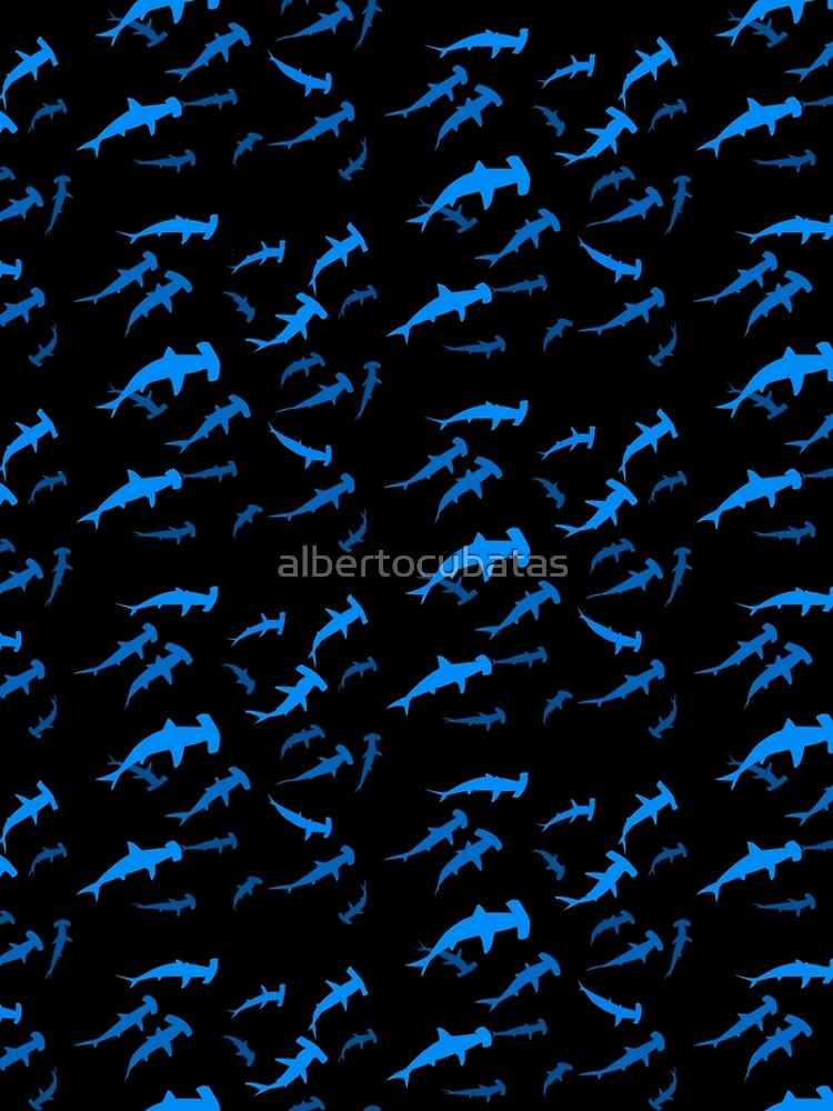Hammerhead shark by albertocubatas