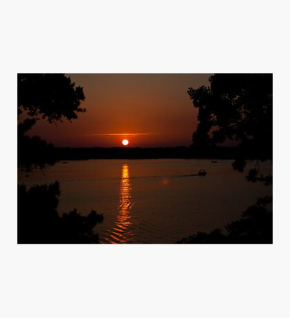 A Beautiful Way to End the Day Photographic Print