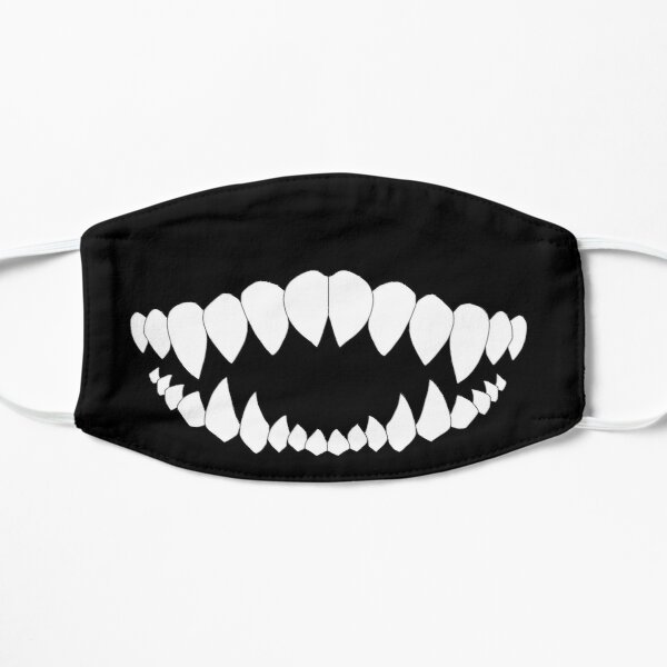 Monster Mouth Flat Mask