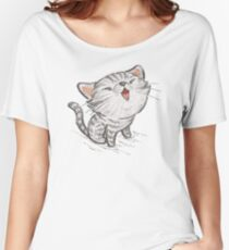 Kitten in a good mood Women's Relaxed Fit T-Shirt