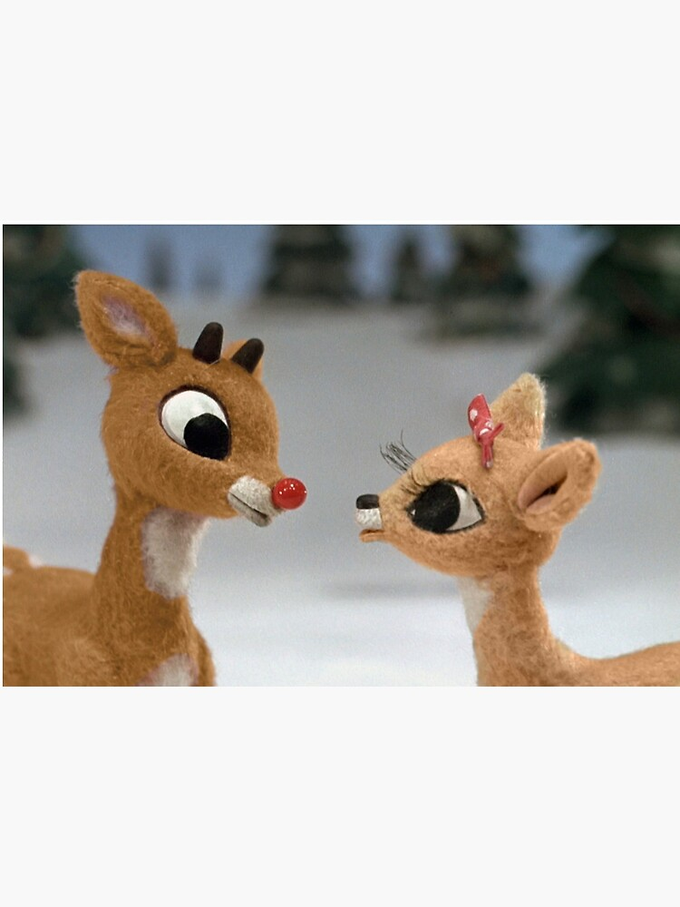 Rudolph and Clarice by Slinky-Reebs