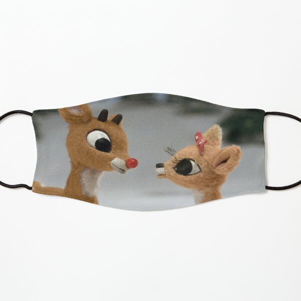 Rudolph and Clarice Kids Mask