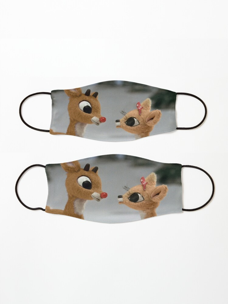 Alternate view of Rudolph and Clarice Mask