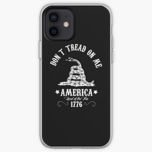Don't Tread On Me iPhone Soft Case