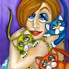 Cat Lover by Alma Lee