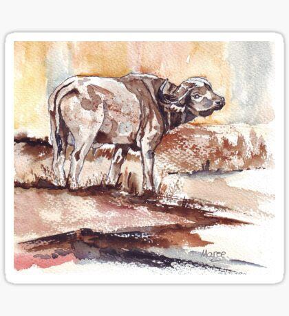 African Buffalo Sticker