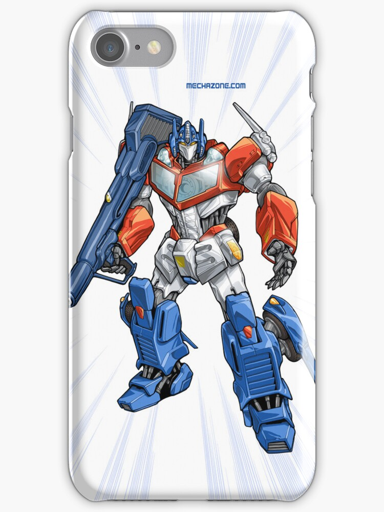 Optimus Prime iPhone case by Mecha-Zone