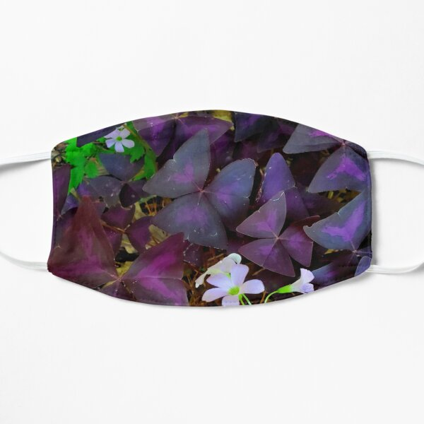 Purple Merlot clover Mask