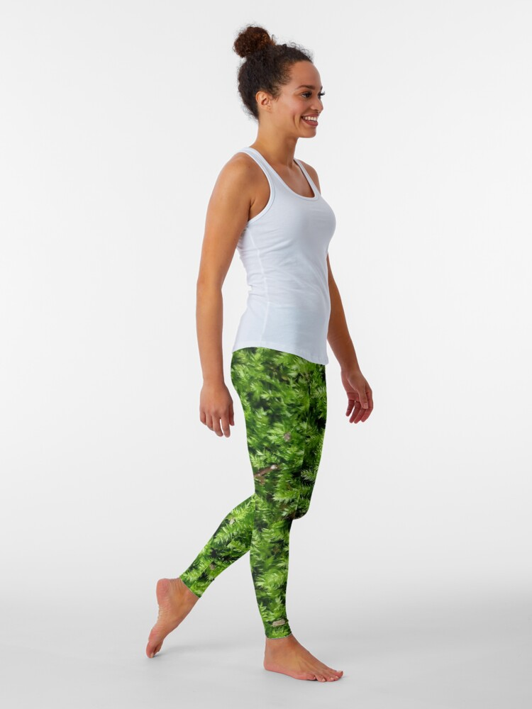 Alternate view of Moss cover Classy Camo Leggings