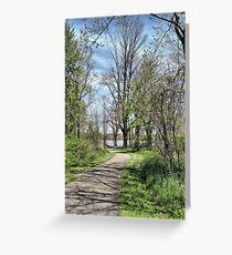 Lake Milton Trail Greeting Card