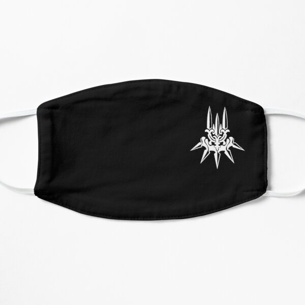 YoRHa - White Insignia - Corner print Flat Mask