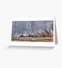 River Reeds Greeting Card