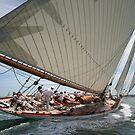 Mariquita in Full Sail by John Lines