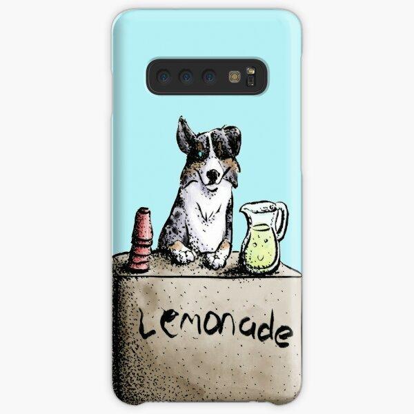 Summer Dog: Aussie Shepherd's Lemonade Stand Samsung Galaxy Snap Case