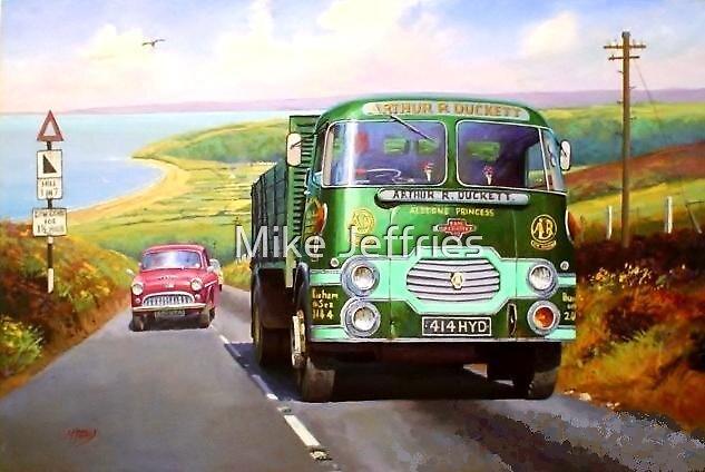 Rowe Hillmaster on Porlock. by Mike Jeffries