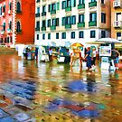 Venice in the Rain by John Lines