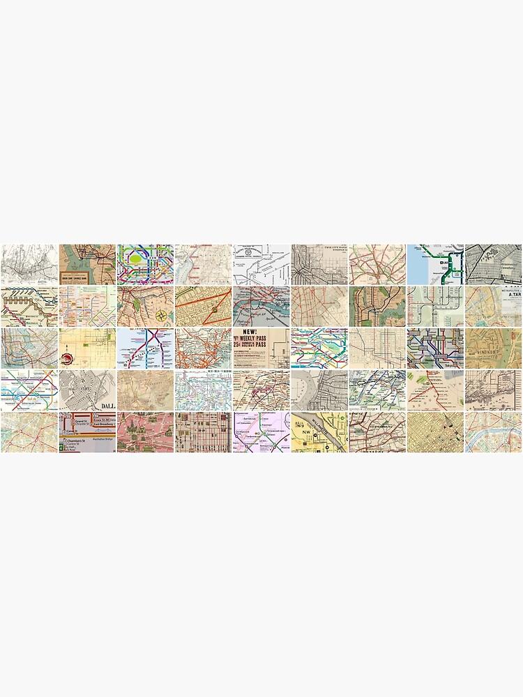 Subway & Transit Maps by artboy213
