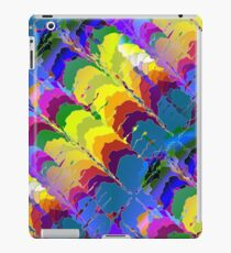 Retro-Psychedelic Rainbows iPad Case/Skin