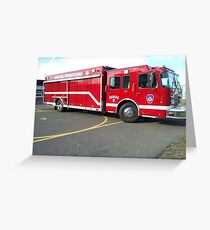 Enfield Fire Dept. Special Operations Greeting Card
