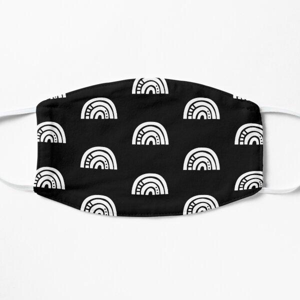 White Rainbow Flat Mask