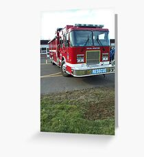 Enfield Fire Dept Special Operations Greeting Card