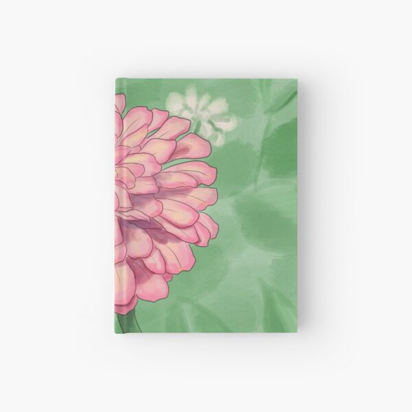 Zinnia Hardcover Journal