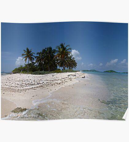 Caribbean Dream Beach Poster