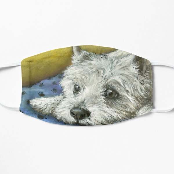 Daydreaming Westie Mask