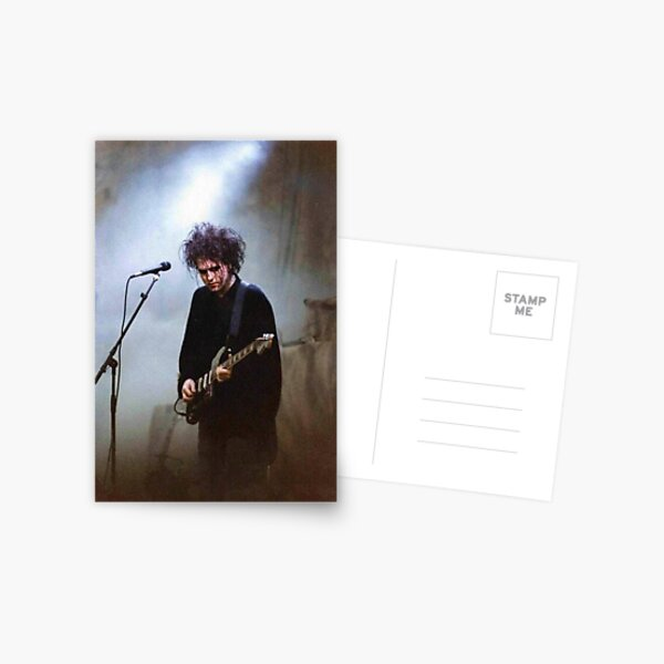 Robert smith the cure print Postcard
