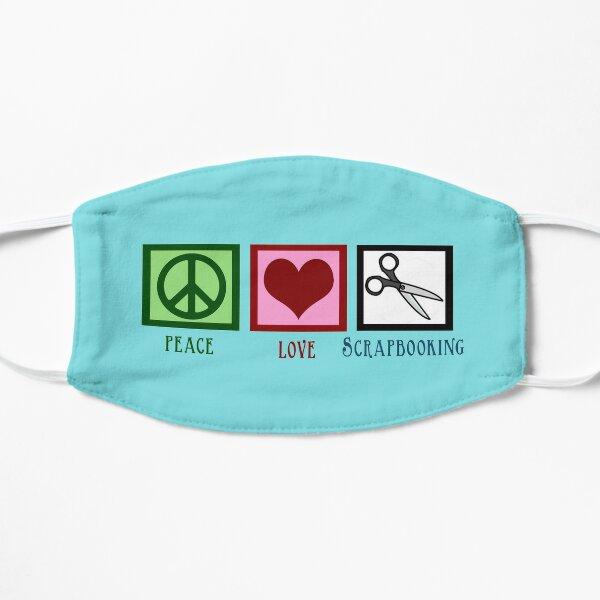 Peace Love Scrapbooking Mask