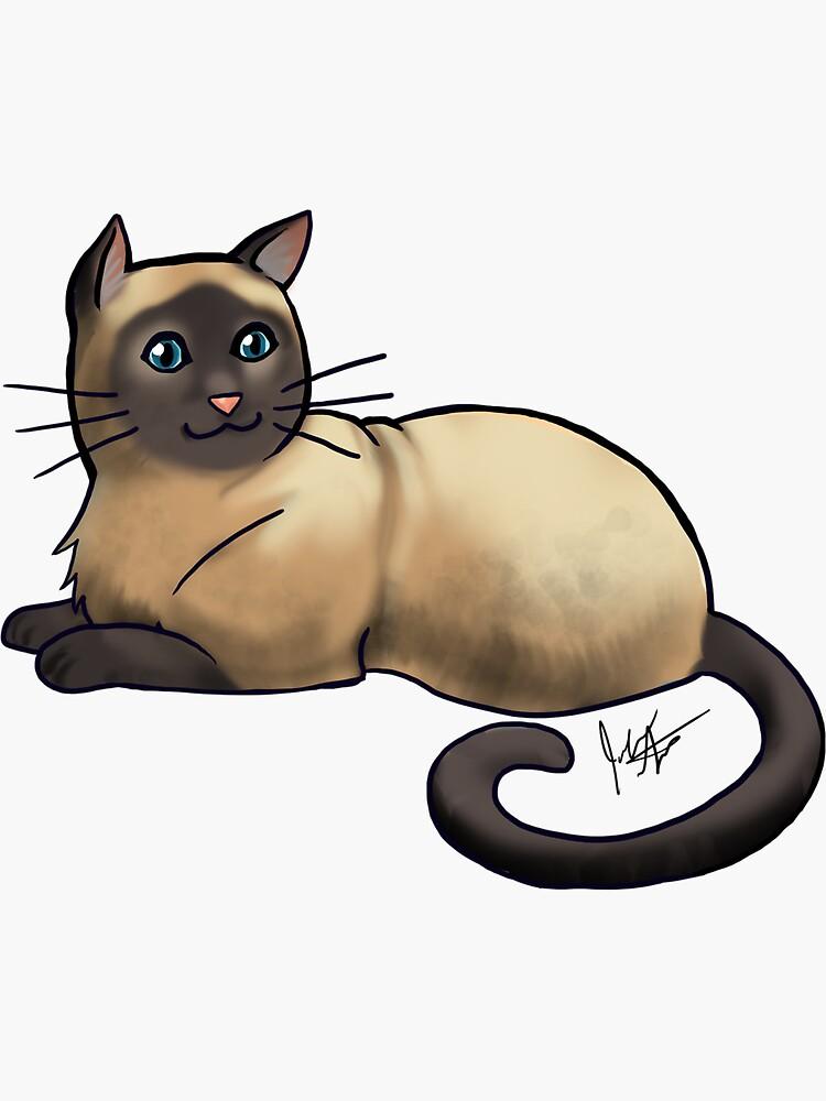 Siamese Cat  by jameson9101322