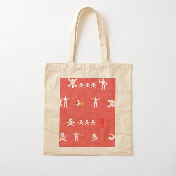 Under the Red Flag Cotton Tote Bag