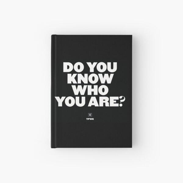¿Sabes quién eres? Cuaderno de tapa dura