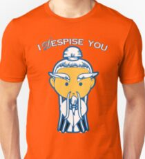 Kill Bill - Pai Mei - I Despise You (Gordon Liu) Unisex T-Shirt