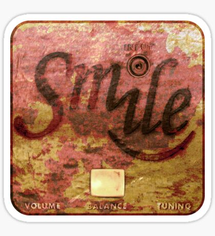 Smile Rust Real Sticker