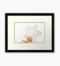 A tree's star Framed Print