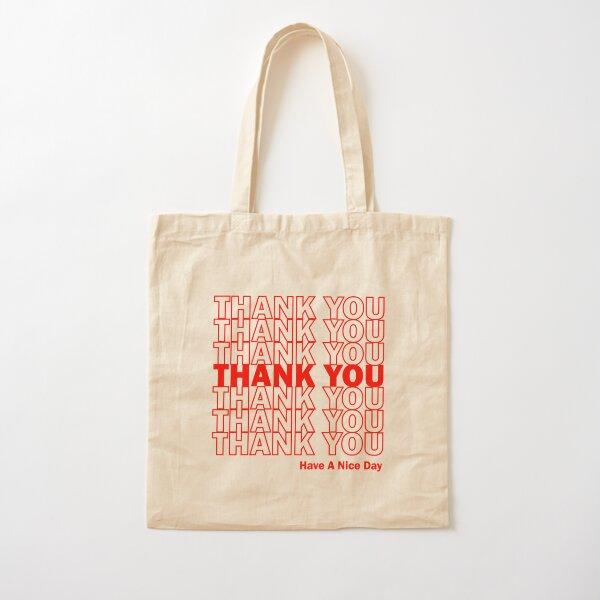 Thank You Bag Design Cotton Tote Bag